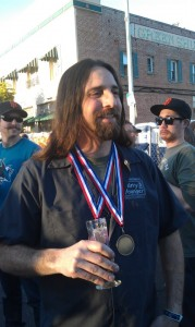 Guy & his medals