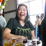 Linda at Discretion Brewing